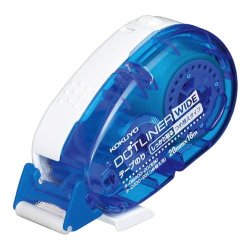 コクヨ テープのり ドットライナー ワイド 強粘着 本体 タ-DM400-20