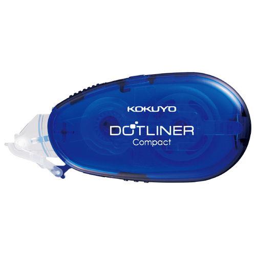 コクヨ テープのり ドットライナー コンパクト 本体 青 タ-DM4500-08B