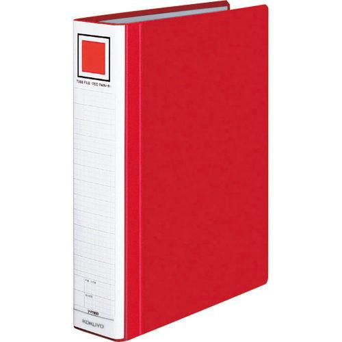 コクヨ チューブファイル エコツインR A4タテ 赤 フ-RT650R