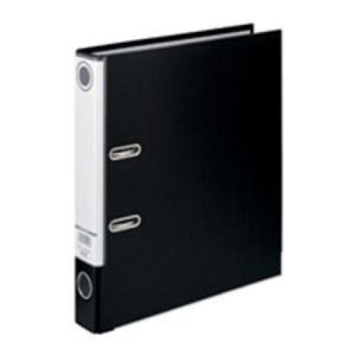 ハピラ レバー式アーチファイル A4タテ ブラック SGLAF5