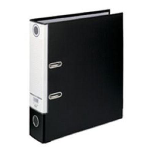 ハピラ レバー式アーチファイル A4タテ ブラック SGLAF8