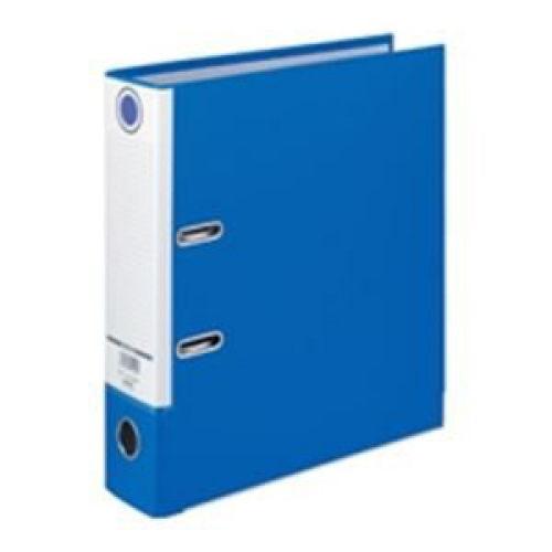 ハピラ レバー式アーチファイル A4タテ ブルー SGLAF8