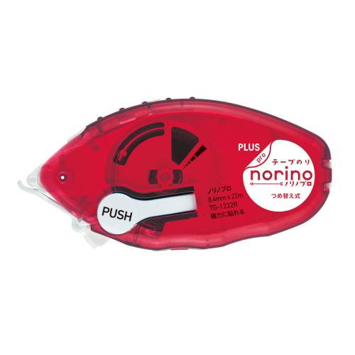 プラス テープのり ノリノプロ 強力に貼れる 本体 TG-1222