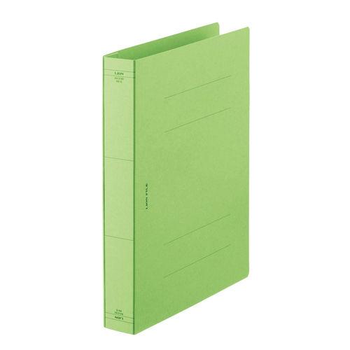 ライオン事務器 フラットファイル 厚とじタイプ A4タテ 緑 AW-519S