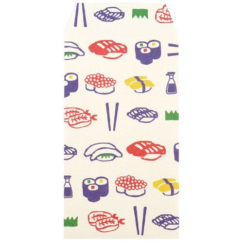 カクケイ ふわり 和紙ぽち袋 寿司 FWP10043