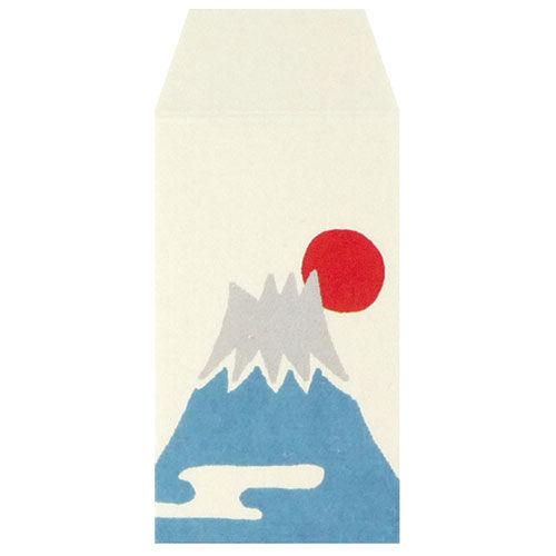 カクケイ ふわり 和紙豆ぽち袋 富士山2 FMP10312