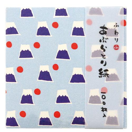 ふわり あぶらとり紙 平タイプ 富士山 FWA001