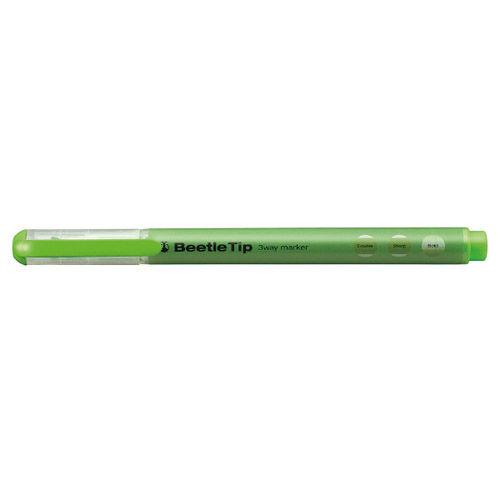 コクヨ スリーウェイマーカー BeetleTip グリーン PM-L301G