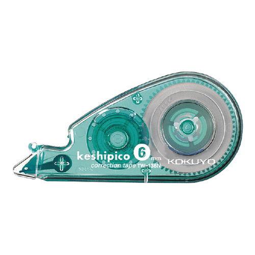 コクヨ 修正テープ ケシピコ 6mm×10m TW-136N