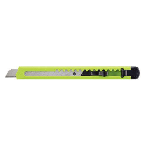 コクヨ カッターナイフ 黄緑 HA-2YG