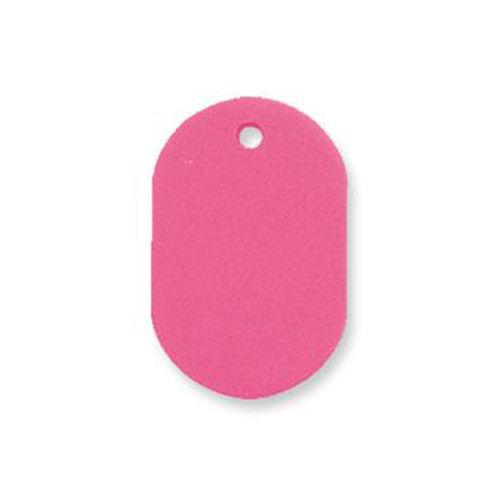 共栄プラスチック プラスチック番号札 番号なし 大 ピンク 50枚入 NO.16C-P