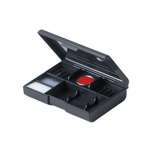 シヤチハタ 印章セット Φ15×60mm+Φ18×60mm対応 ブラック CP-2