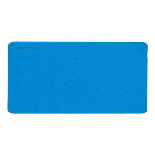 シヤチハタ 捺印マット 印マット4 大型 ブルー IM-3ブルー