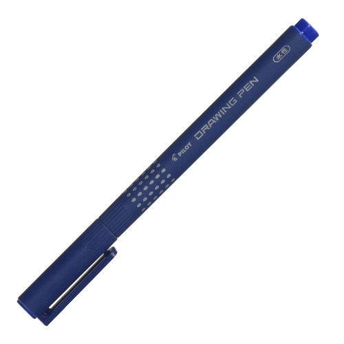 パイロット 水性ペン ドローイングペン05 0.5mm ブルー S-15DRN5-L