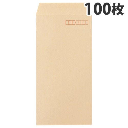 ピース 間伐材クラフト封筒 定型郵便用 長3 100枚 390-60