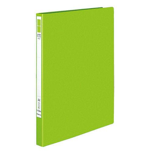 コクヨ レバーファイル EZe A4タテ 黄緑 120枚 フ-U330YG