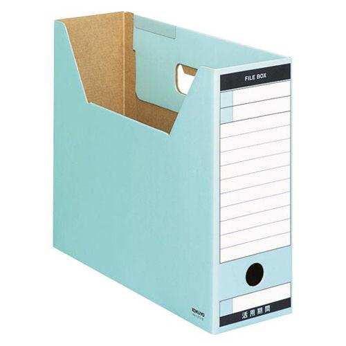 コクヨ ファイルボックス-FS ピースTタイプ A4横 青 1冊 A4-LFT-B