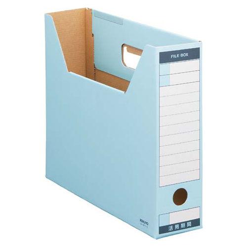 コクヨ ファイルボックス-FS ピースTタイプ A4横 青 1冊 A4-SFT-B