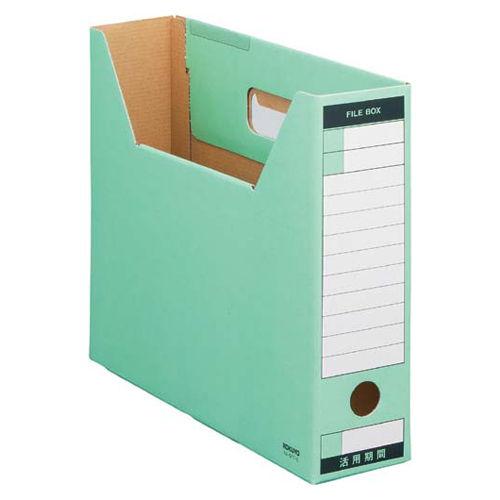 コクヨ ファイルボックス-FS ピースTタイプ A4横 緑 1冊 A4-SFT-G