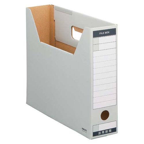 コクヨ ファイルボックス-FS ピースTタイプ A4横 グレー 1冊 A4-SFT-M