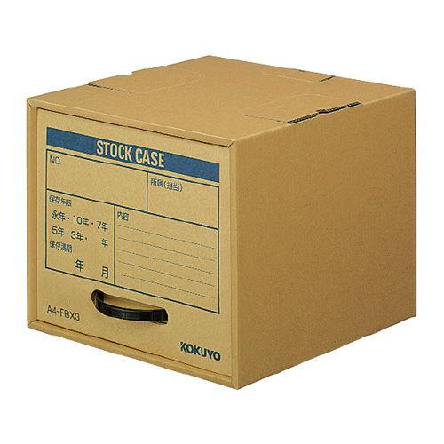 コクヨ 保存キャビネット A4ファイルボックス用 A4-FBX3*10