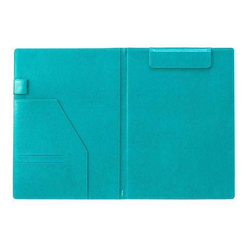 セキセイ ベルポスト クリップファイル 二つ折りタイプ A4タテ ブルー BP-5724-10
