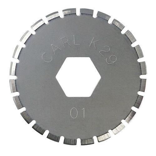 カール ディスクカッター替刃 (ミシン目刃) 1枚 DCC-29