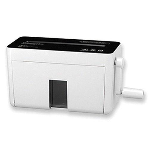 アスカ ハンドマイクロカットシュレッダー ホワイト HM04W