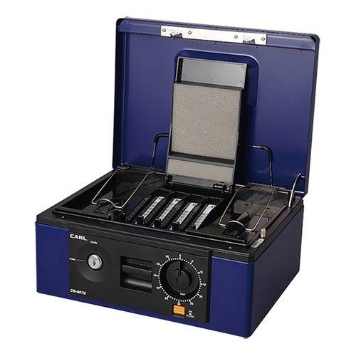 カール キャッシュボックス ブルー CB-8670