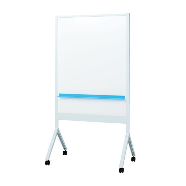プラス カジュアルスタイルホワイトボード ALKU W956×D572×H1800mm ライトグレー ALK-0912DSK-LG