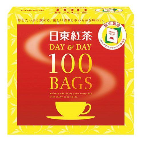 日東紅茶 紅茶ティーバッグデイ&デイ 100バッグ