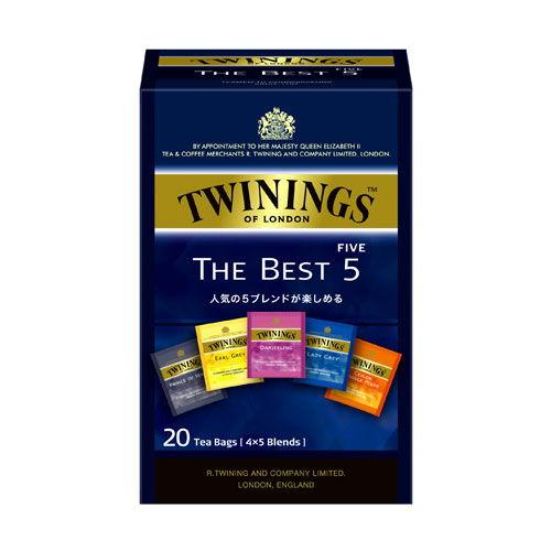 トワイニング 紅茶ザ・ベスト5 20バッグ