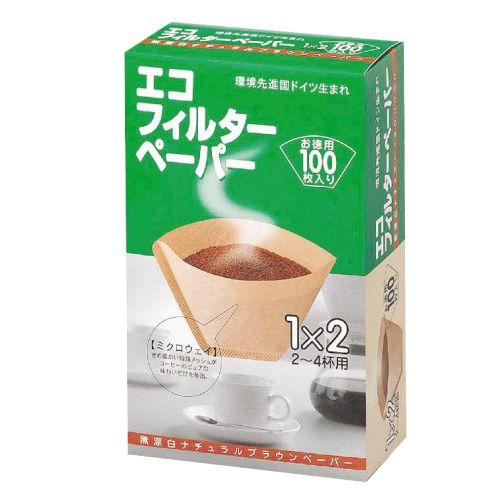 メリタ コーヒーフィルターペーパー 2-4杯用 100枚