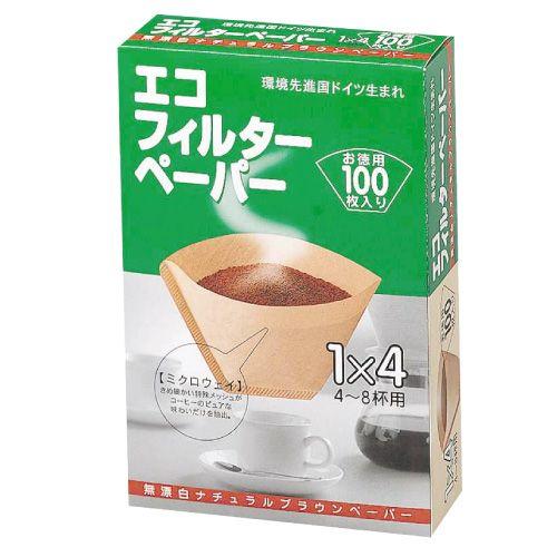 メリタ コーヒーフィルターペーパー 4-8杯用 100枚
