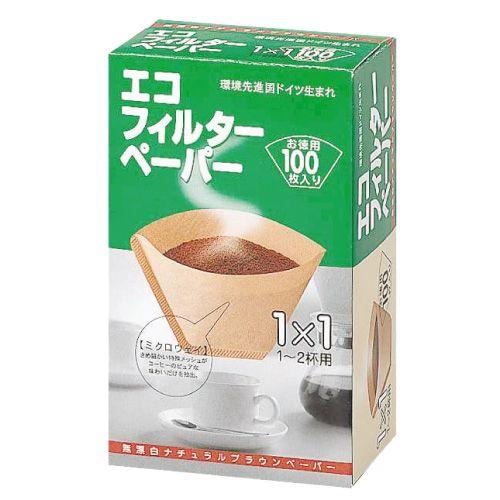 メリタ コーヒーフィルターペーパー 1-2杯用 100枚