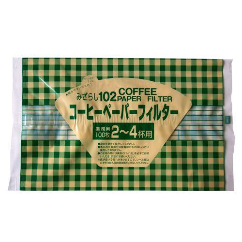 セイコー珈琲 コーヒーフィルターペーパー みざらし2~4杯用