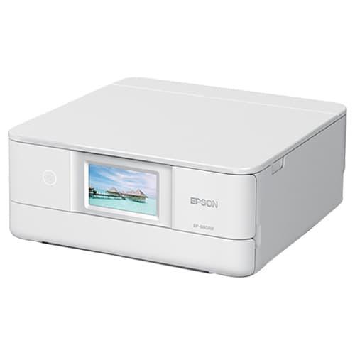 エプソン インクジェットプリンター EP-880AW カラリオ ホワイト