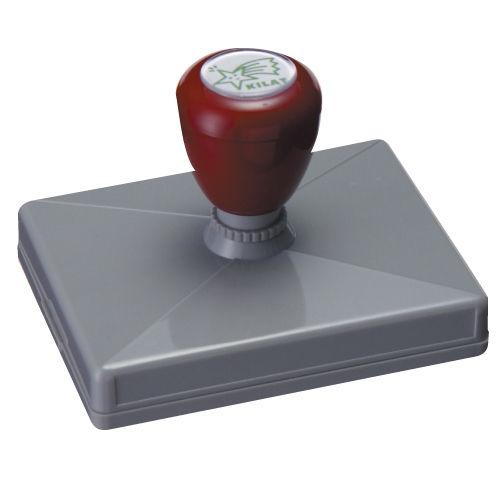 印鑑 GRATESスタンプ 長方形型 印面86.5×126mm