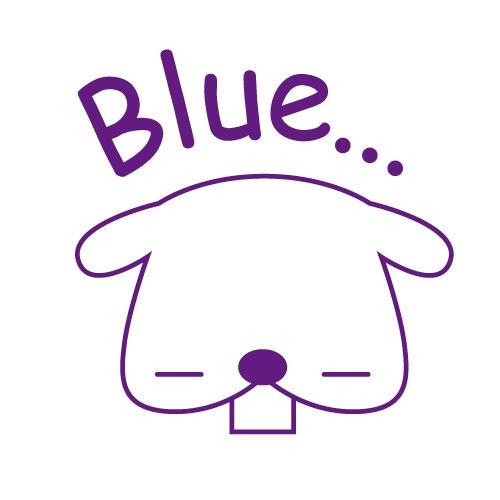 スタンプ浸透印 (コミュニケーションタイプ)C50 Blue