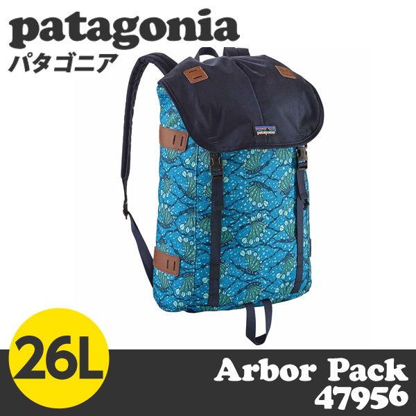 patagonia バックパック アーバー パック 26L ヘキシフィッシュ/レーダーブルー 47956