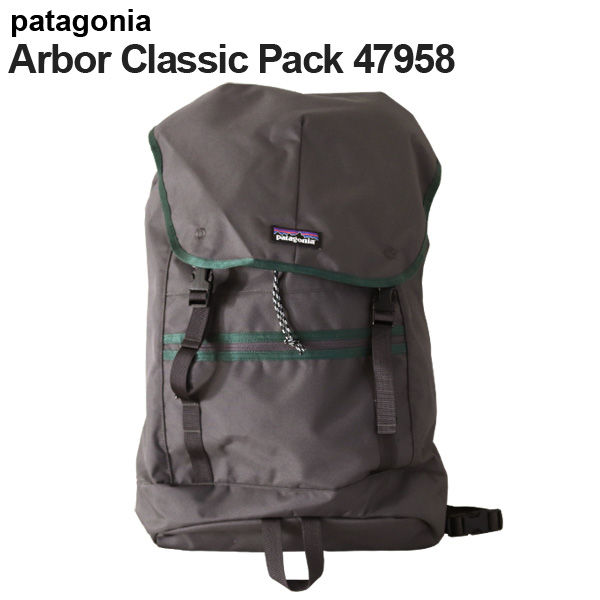 Patagonia バックパック アーバークラシックパック 25L フォージグレー 47958