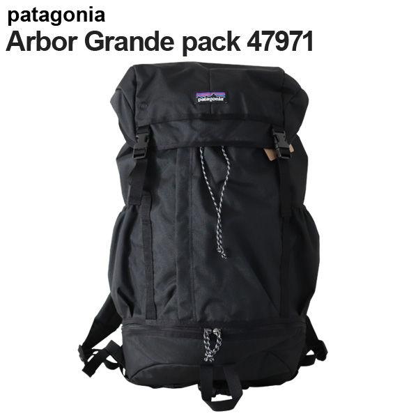 Patagonia バックパック アーバーグランデパック 28L ブラック 47971