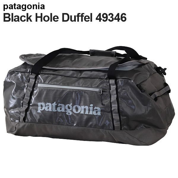 Patagonia バックパック ブラックホールダッフル 90L ヘックスグレー 49346