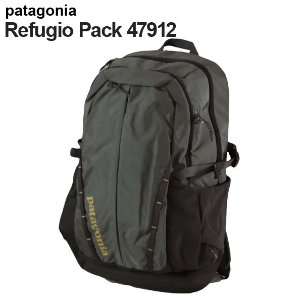 Patagonia バックパック レフュジオパック 28L フォージグレー×テキスタイルグリーン 47912