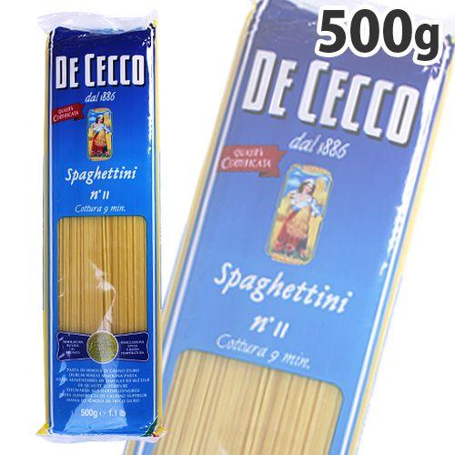 ディ・チェコ パスタ スパゲッティーニ NO.11 500g