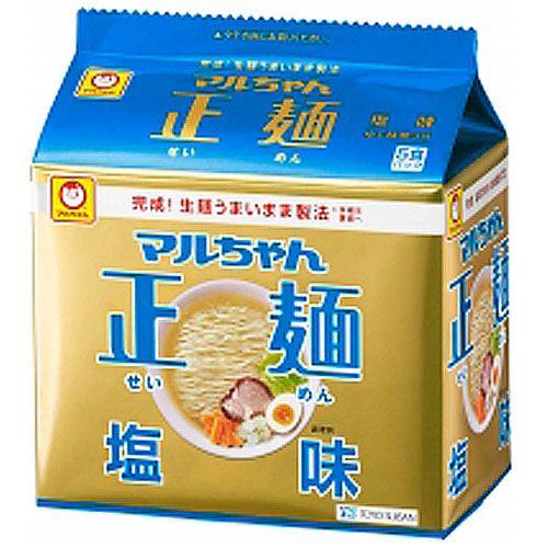 東洋水産 マルちゃん正麺 塩味 105g 5食