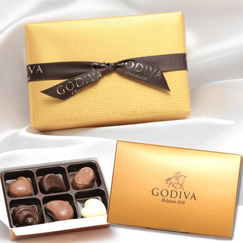 【賞味期限:20.04.01】ゴディバ チョコレート ゴディバ ゴールドアソート 6粒