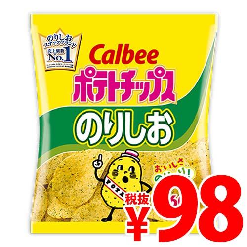 【賞味期限:19.09.01】カルビー ポテトチップス のりしお 60g