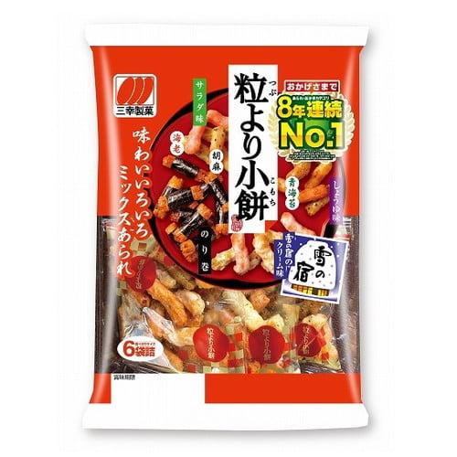 【賞味期限:19.08.29】三幸製菓 粒より小餅 90g