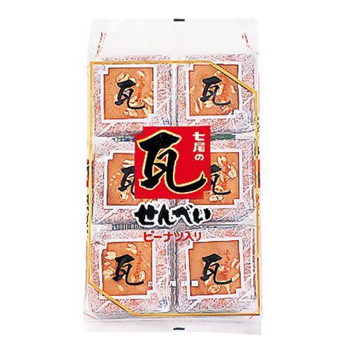 【賞味期限:19.07.18】 七尾製菓 瓦せんべい 24枚